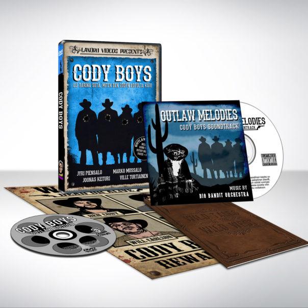 Cody Boys DVD elokuvan kannet