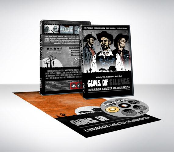 Guns of Silence DVD- elokuvan kannet