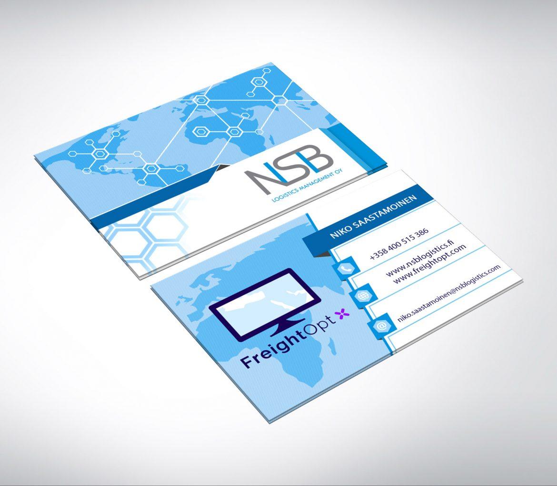 NSB Logistics käyntikortti