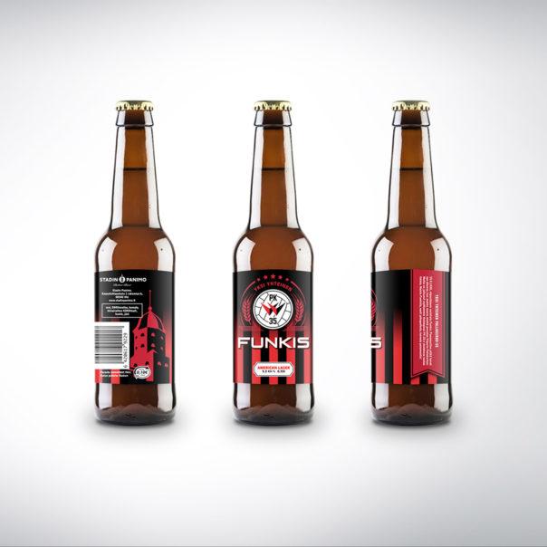 PK-35 olutpullo funkkis