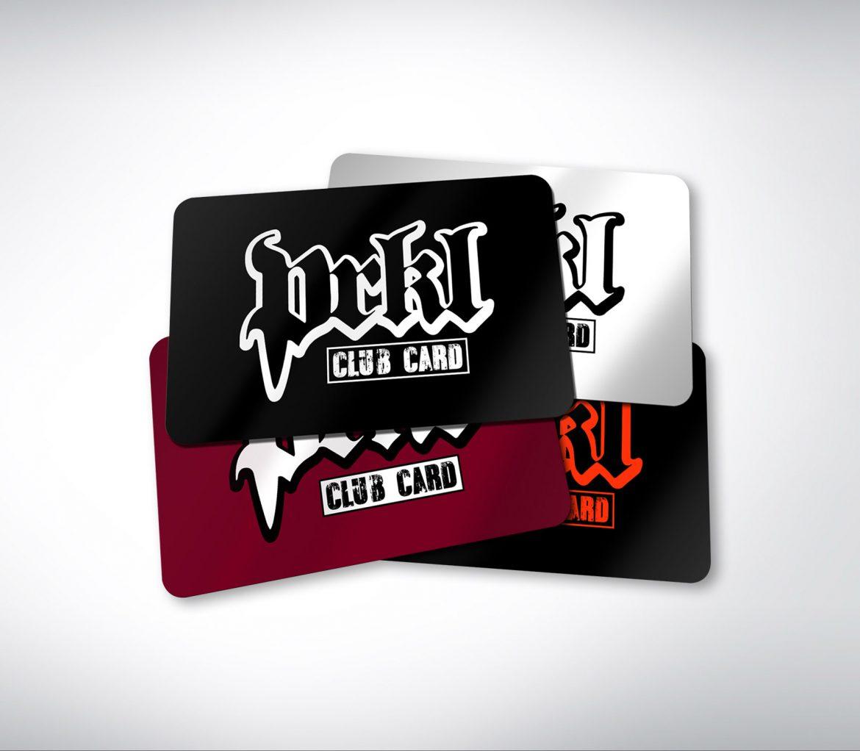 prkl club kortti