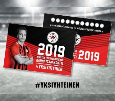 PK-35 miesten kannattajakortti 2019