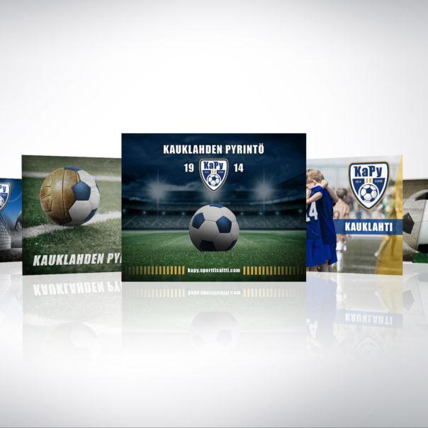 KaPy jalkapalloseuran kuvapankkikuvia