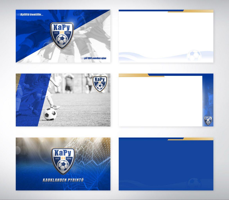 KaPy jalkapalloseuran PowerPoint pohjat
