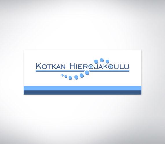 Kotkan Hierojakoulu logo