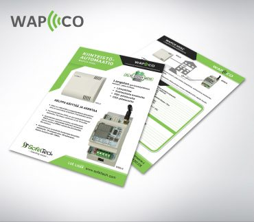 WAPCO kiinteistöautomaatio flyeri
